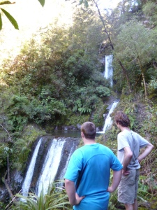 Raoul and Steven at Ryde Falls